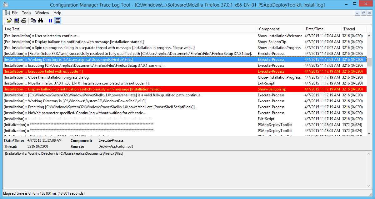 Installing Applications with PowerShell App Deployment